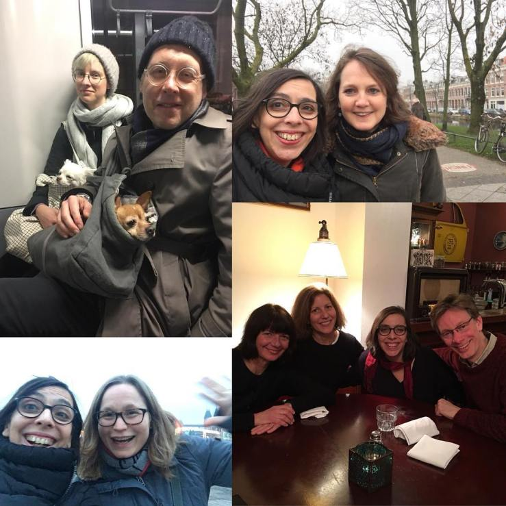 32 years of friendships in 24 hours. Thank you, lovelies, for making the time. (Good bye Amsterdam. See you again soon.)