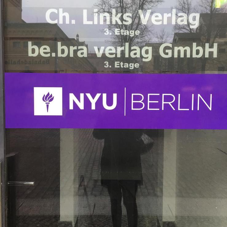 Thank you, NYU Berlin, for your incredible hospitality and for the extraordinary work you do for our students. See you again soon!
