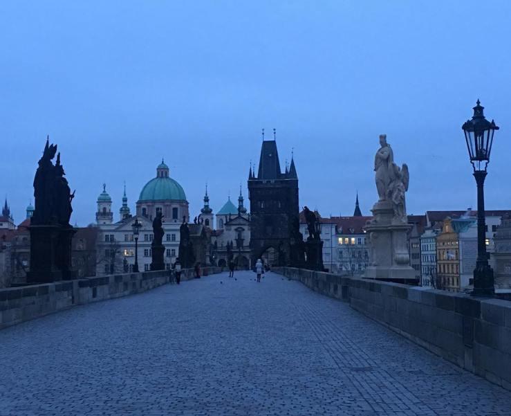 Early Morning Prague