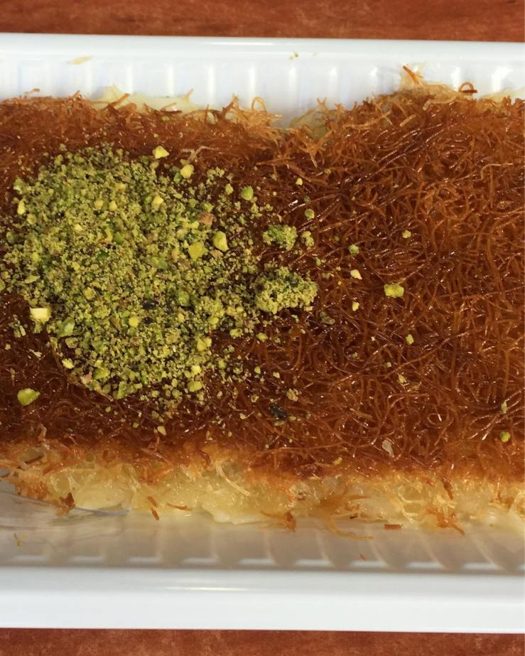 Abu Dhabi. Kunafa Treat.