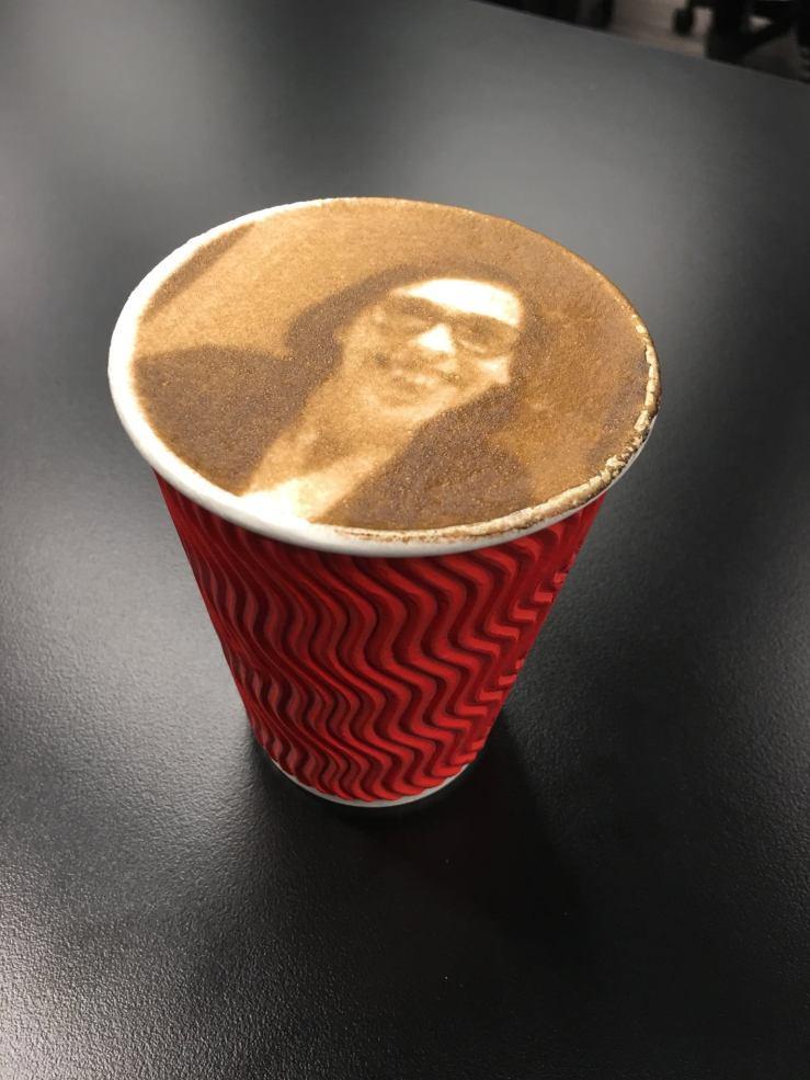 3D Printed Cappuccino