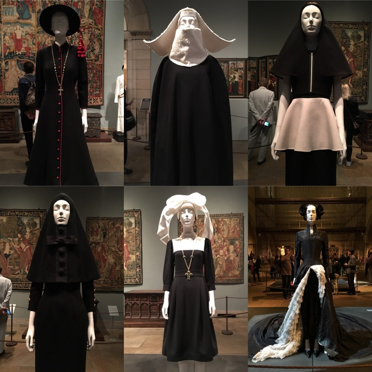Met Museum: Heavenly Bodies: Fashion and the Catholic Imagination. I was hesitant and critical, but the catholic aesthetic was implanted young and strong (see early childhood ambitions of martyrdom and sainthood.) Also … over-the-top Michael Naiman soundtrack to make you feel like you're in a Peter Greenaway film.