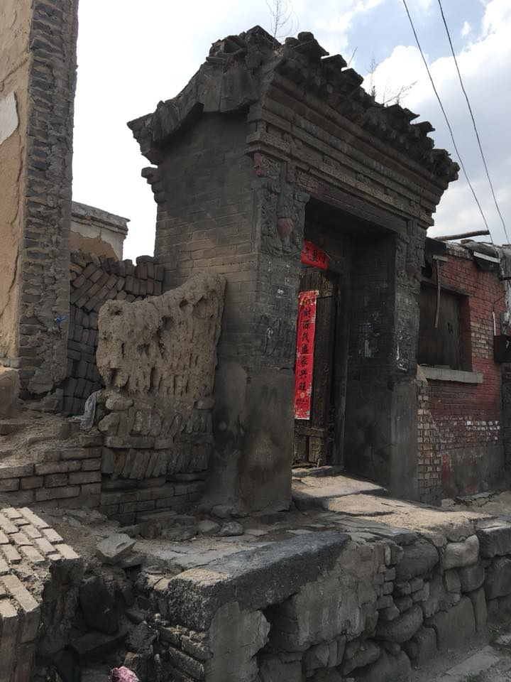 "Datong Old City: the old city is being demolished for the recreation of the old city. (The film ""The Chinese Mayor"" chronicles the building of the City Wall as well as the evictions, relocation, demolition, cultural construction plans of the inner city.)"