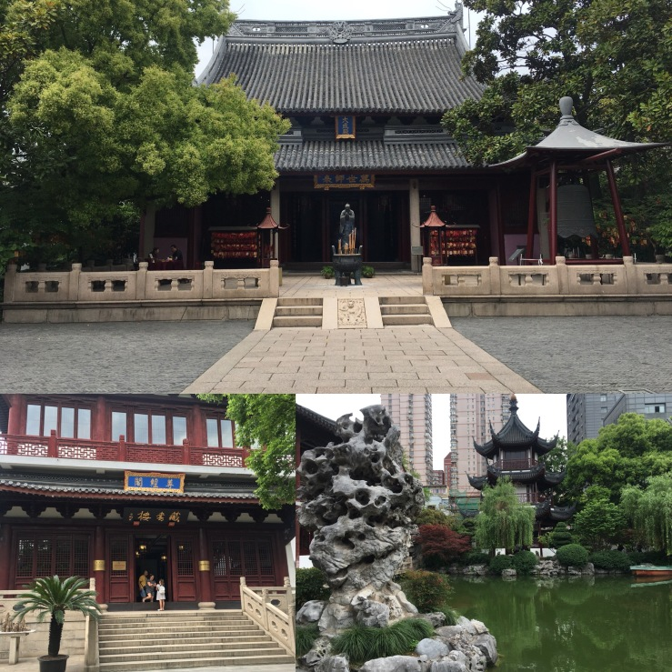 Remembering more recent temple breaks from earlier this month: Shanghai Confucian Temple (hello Blair!) one of the most tranquil spots …
