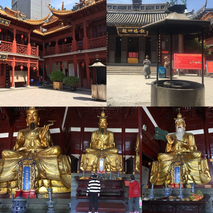 Taking a work identity break to remember a recent moment of repose at the Shanghai Qinci Yangdian Taoist Temple.