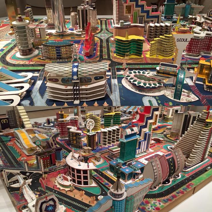MoMA: Bodys Isek Kingelez: City Dreams - so amazing.
