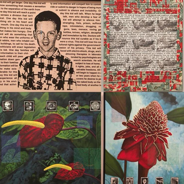 "David Wojnarowicz ""History Keeps Me Awake at Night"". (Thank you, Debra)"