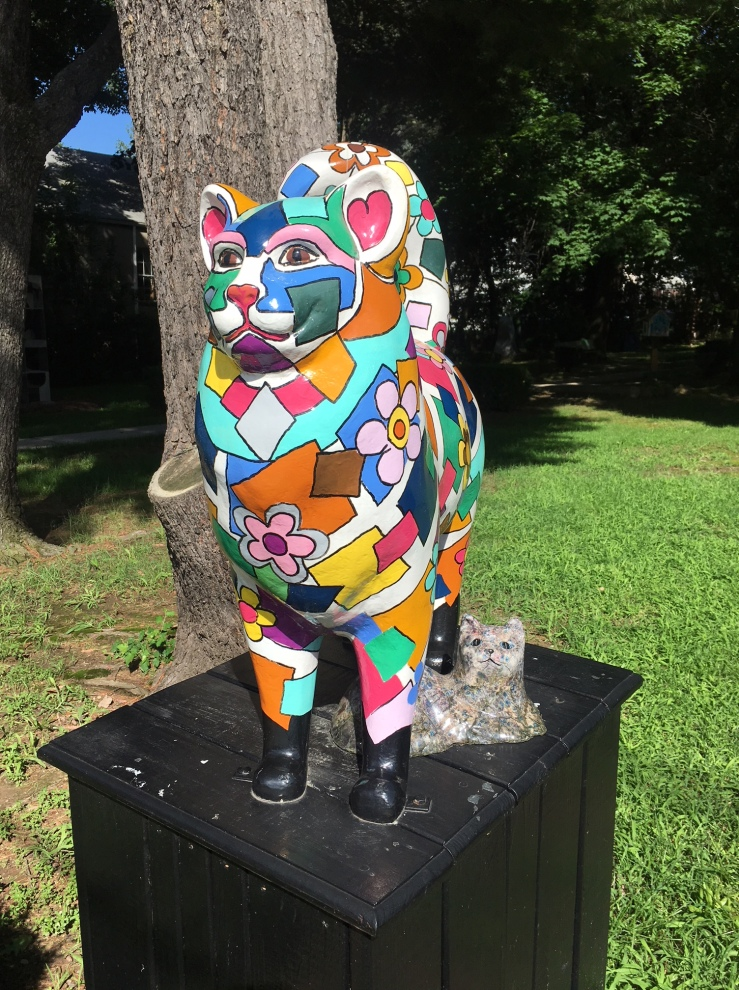 Sculpture for Leonia: Cat Sculptures