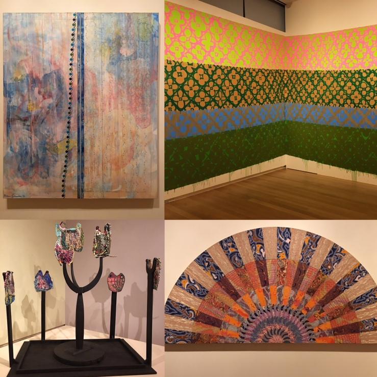 "MADMuseum: ""Surface/Depth - The Decorative After Miriam Schapiro"" | Derrick Adams: ""Sanctuary"" | Tanya Aguiñiga: ""Craft & Care"" | ""La Frontera: Encounters Along the Border"" | MAD Process Lab: Anna Riley ""The Softening of Stone"""