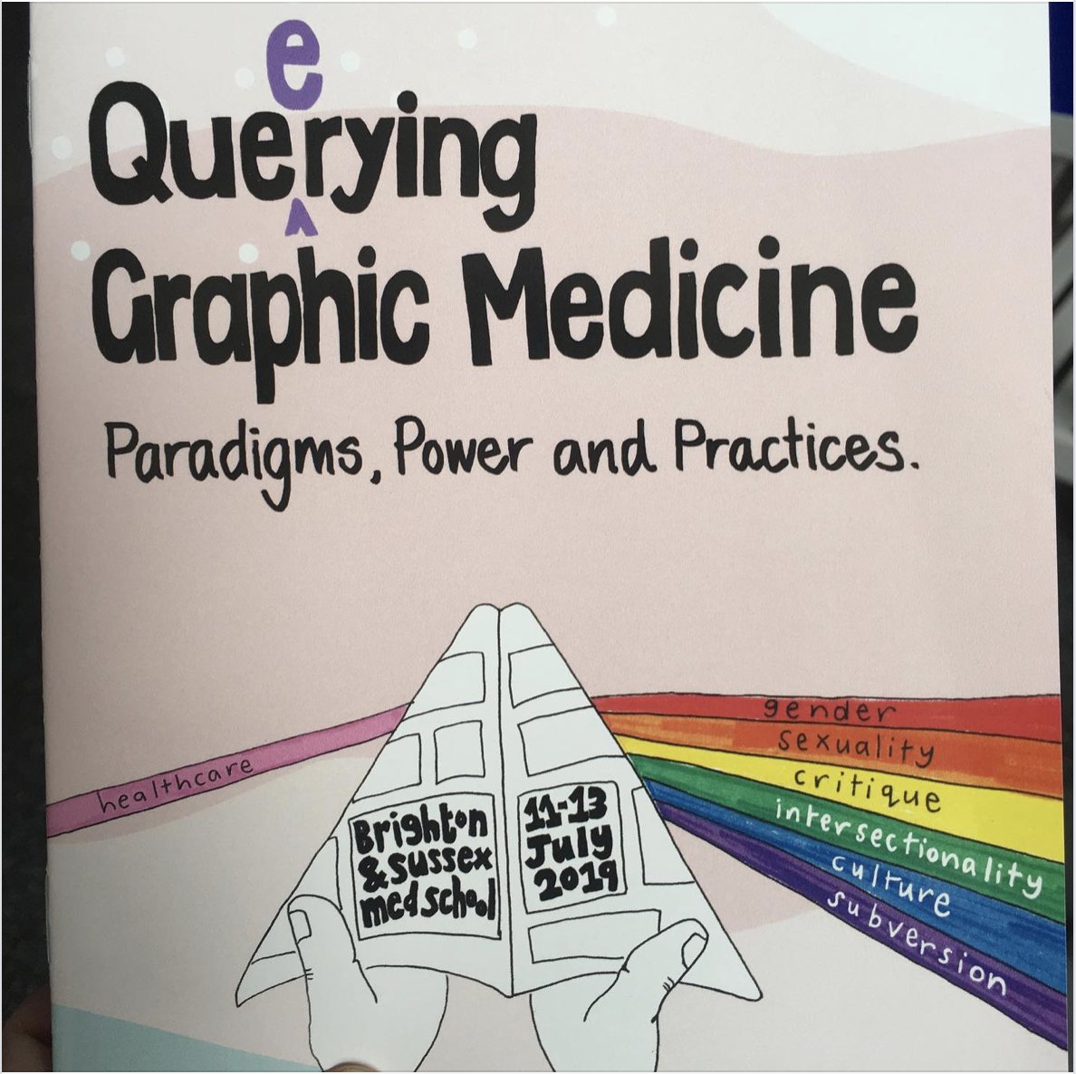 Queerying Graphic Medicine: Paradigms, Power, and Practices.